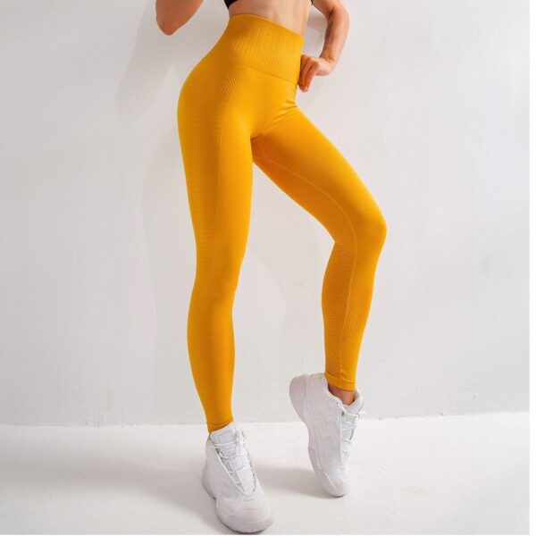 "Tamprės ""Slim Compression Yellow"""